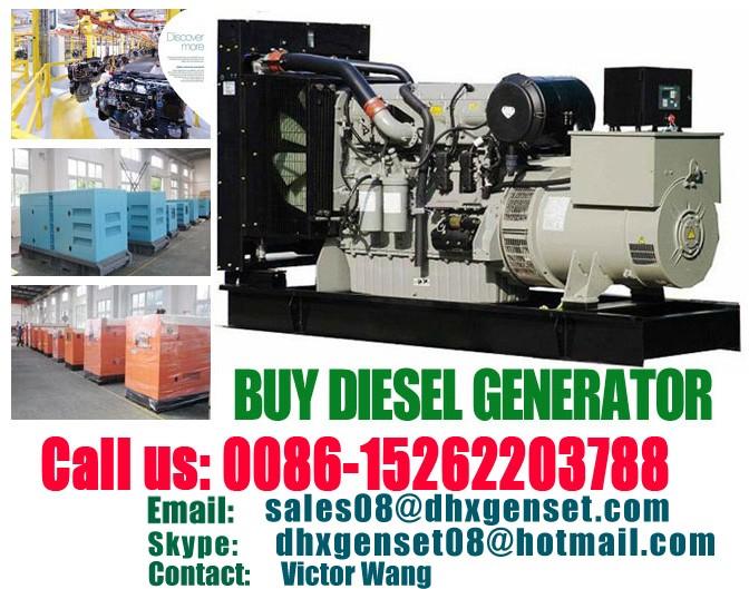 Diesel Generator Set For Sale