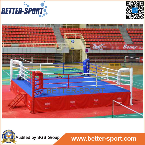 International Standard Quality Floor Boxing Ring With