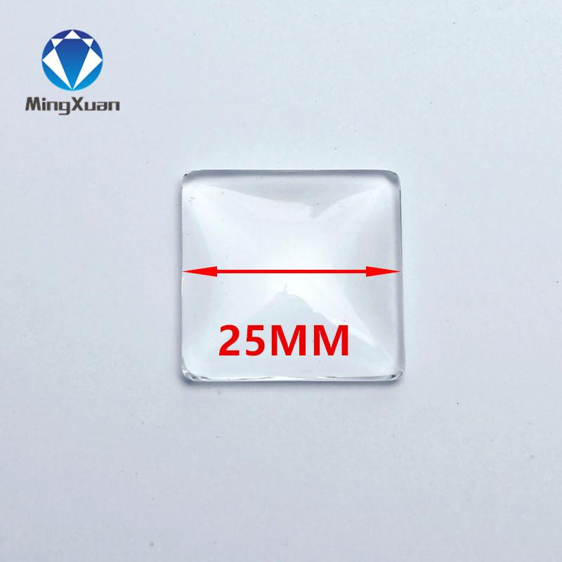 50 шт./лот 8-30 мм круглый/Овальный/квадратный плоский задник прозрачное стекло кабошон для DIY Мода ювелирные изделия Продвижение(Китай)