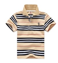 T shirts for boys summer fashion cotton short sleeved striped boys clothes kids clothes T shirt