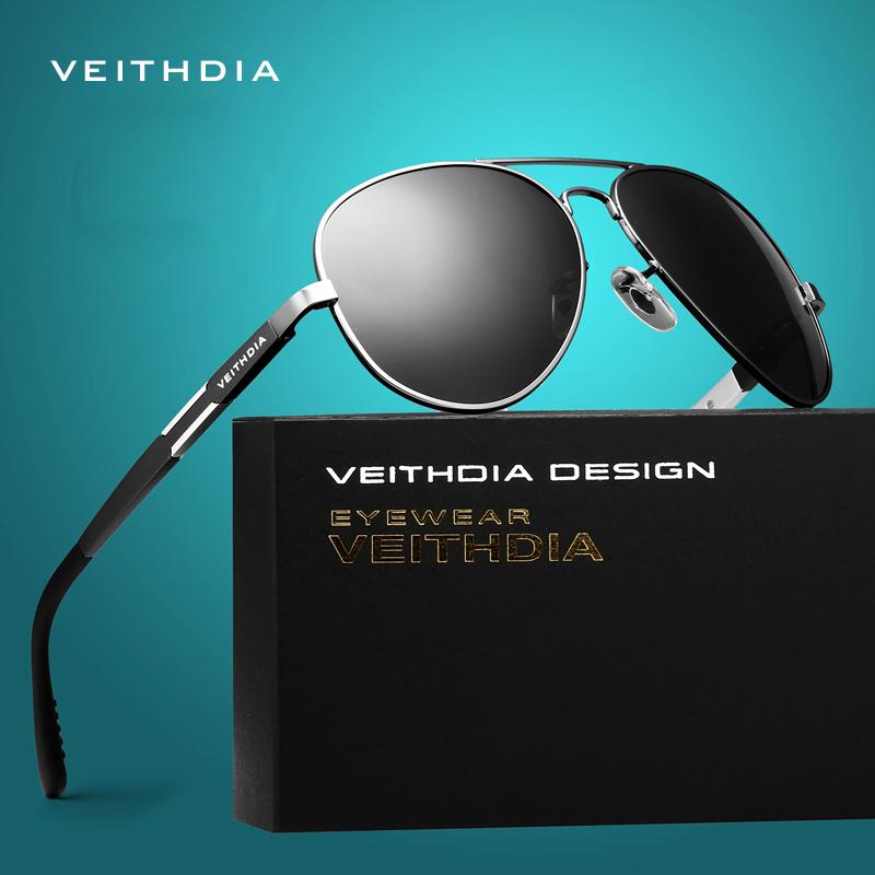 VEITHDIA Aluminum Magnesium Men s Sunglasses Polarized Sun Glasses Male Driving Fishing Outdoor Eyewears Accessories Men