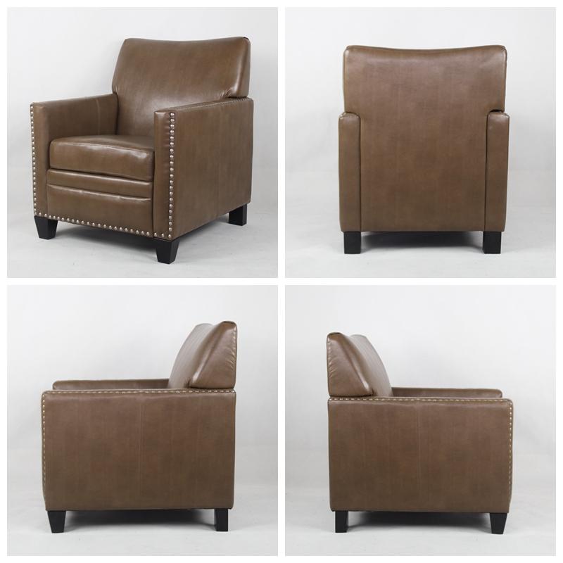 Single Sofa Chair Sale: High Quality And Comfortable Single Leather Sofa / Living