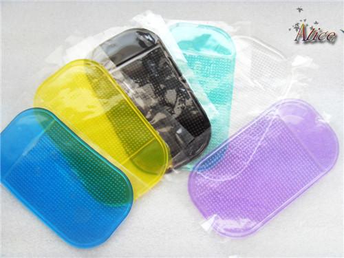 Мощный силикагель мэджик важная Pad скольжение нет скольжение циновка для телефон автомобиль аксессуары с 2 шт. пыль вилка