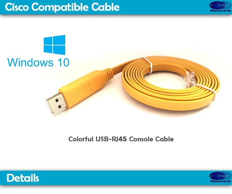 FTDI FT232R ZT213 USB2 0 RS232 serial to RJ45 console cables for cisco  Juniper checkpoint Aruba