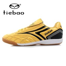 TIEBAO Professional Indoor Soccer Shoes Children Kids Teenagers Football Boots IN IC Boys Girls Training Shoes