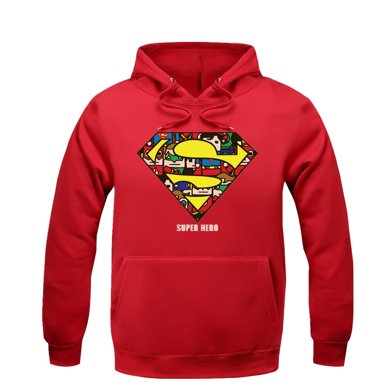 Strong, selfless, and stoic, the Man of Steel is perhaps the most popular Superhero in the world, and fans of the legendary hero can proudly show their allegiance with Superman hoodies and other apparel.