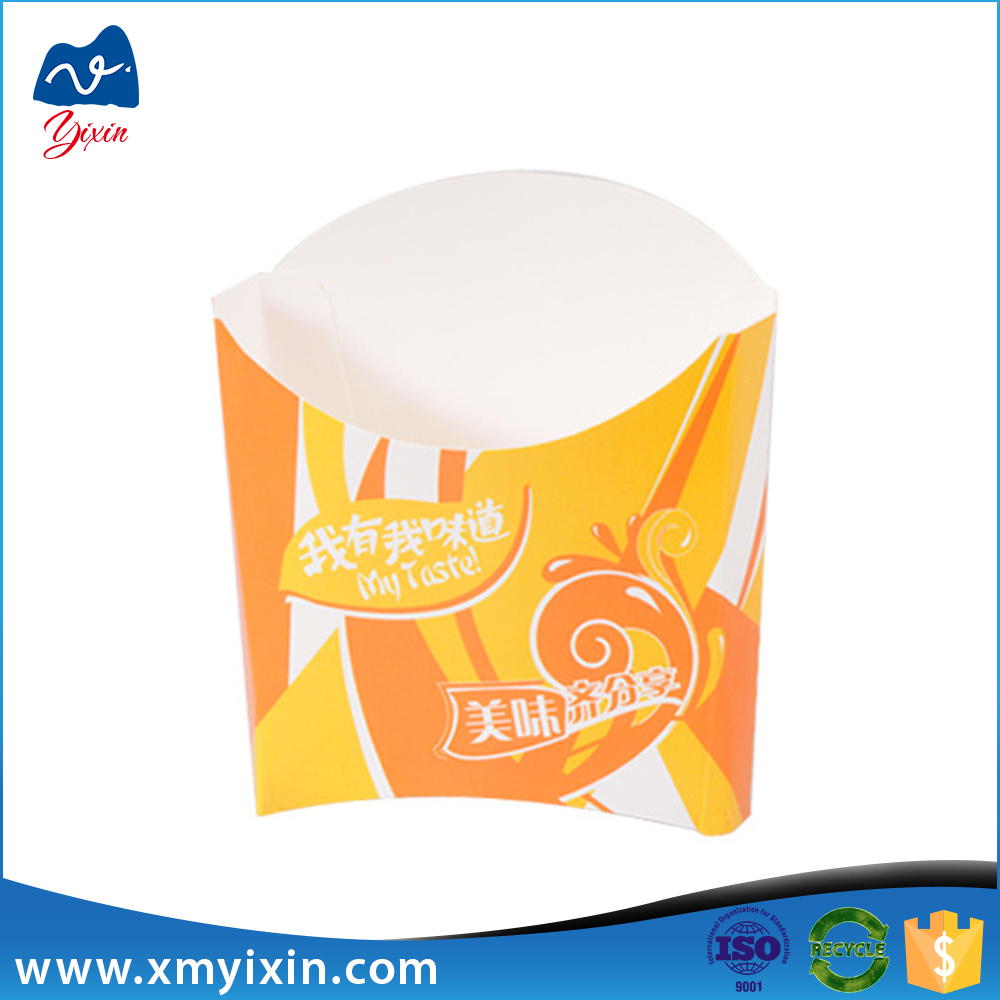 Cost Production Paper Fast Food Packaging Box