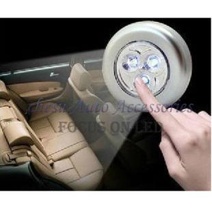 Бросился с ограниченной лампы подсветки багажника автомобиль ствол экстренная 3 из светодиодов касание лампа лампы подсветки багажника в