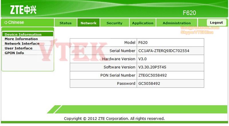 Zte f601 firmware