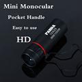 Mini Monocular professional Adjustable 10X25 NEW HD telescope Portable Tourism Scope Pocket spyglass camping hunting binoculars