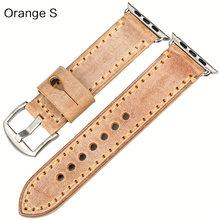 Ремешок для часов MAIKES из коровьей кожи, аксессуары для часов Apple watch, 44 мм, 40 мм, iwatch, Apple watch, ремешок для часов 42 мм, 38 мм, серия 4, 3, 2, 1(Китай)