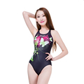 2016 Hot Swimwear Women Profession Sports One Piece Swimsuit Sexy Backless Racing Competition Slimming Plus Size