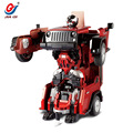 best Birthday gift Jeep rc Autobots Child Wrangler deformation rc truck Transformation Remote Control Robot Car
