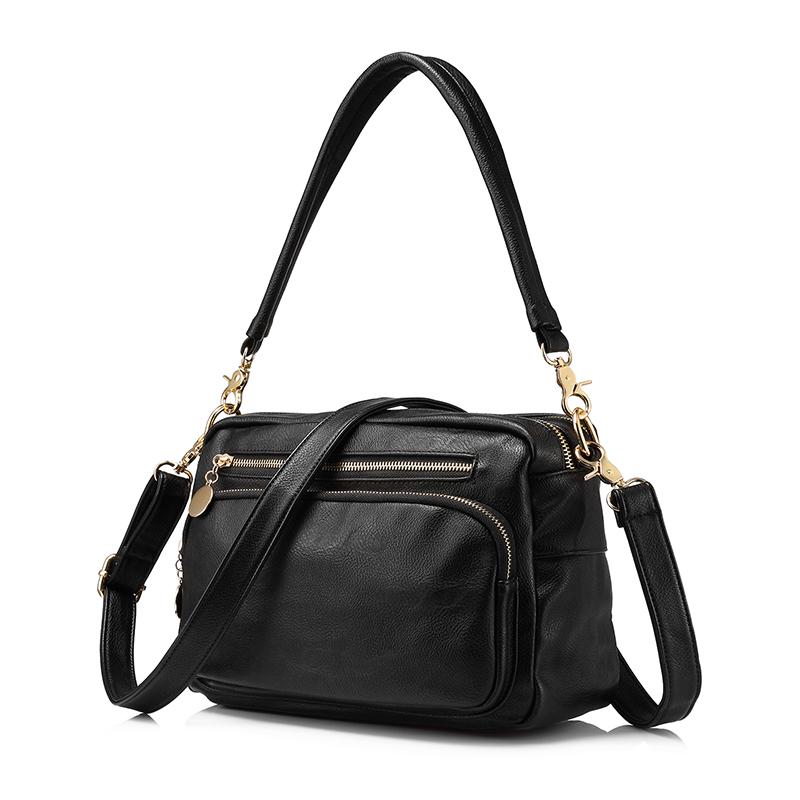 Realer модный бренд женщин сумки на ремне Женский Высокое качество сумка женская двойная молния сумки женские известные бренды(Китай)