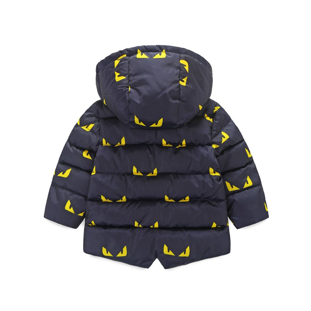 2016 New Sale Regular Cotton Broadcloth 100% Winter Jacket Children Jacket for Winter Clothes Christmas Hooded Kids Warm Coats
