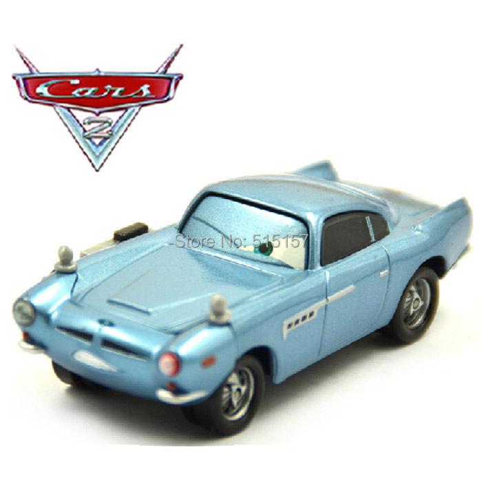 Finn Mcmissile Cars 2: Pixar-Cars-2-Diecast-finn-mcmissile-car-Metal-Toy-Loose