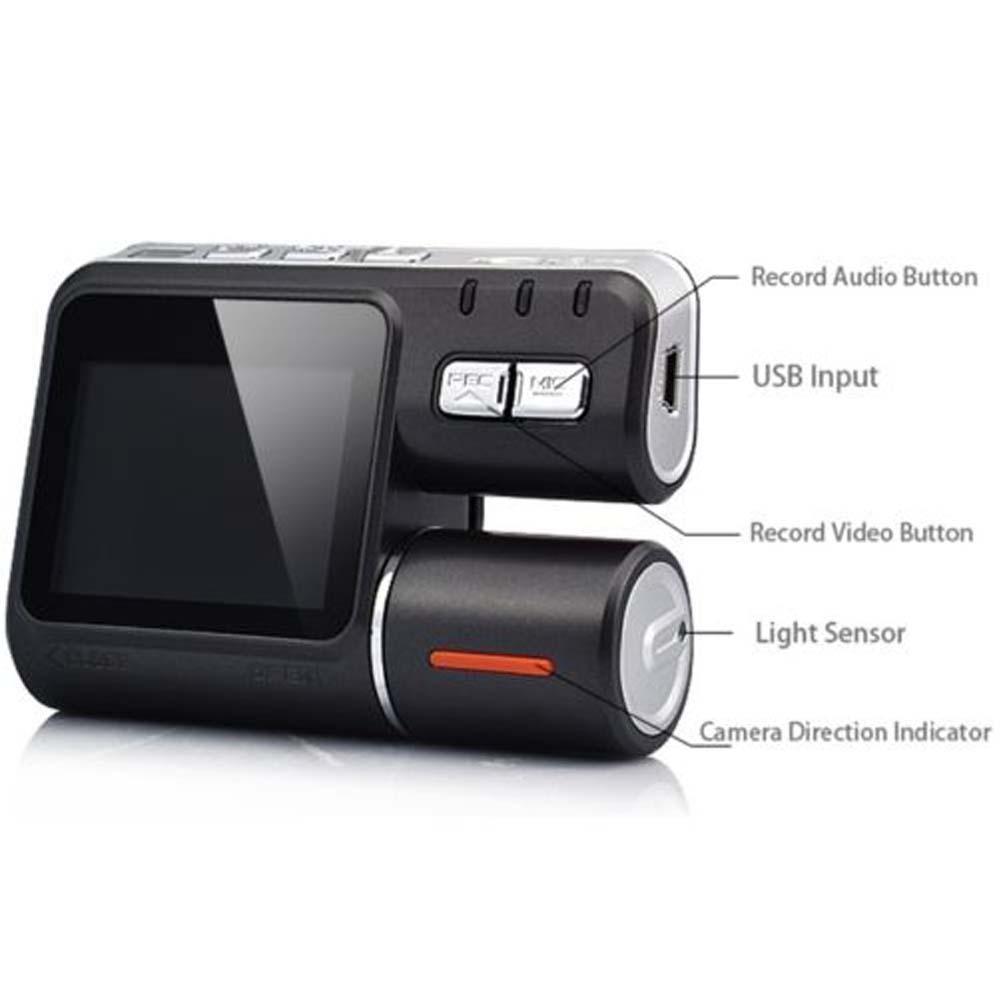 Hd 1080 P с двумя объективами автомобилей автомобиля видеорегистратор камеры приборной панели запись G Cam