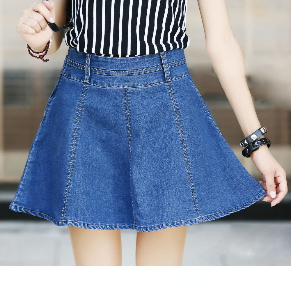 Jean Skirt Pictures 8