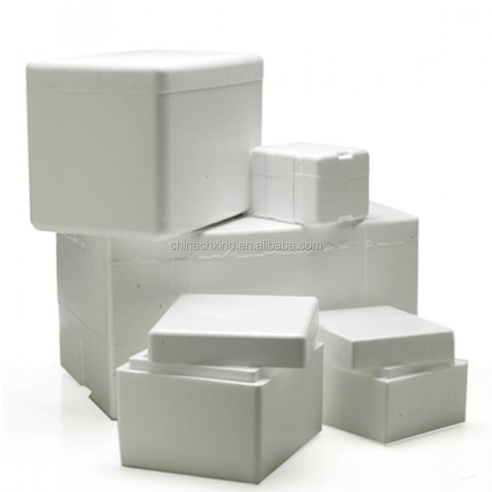 Styrofoam Insulated Cooler With Shipping Box For Ice Cream