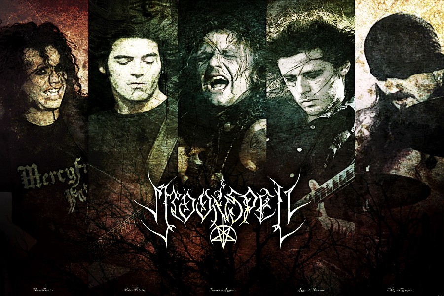 Moonspell Gothic Metal Music Band Poster Fabric Silk Poster Print Great Pictures On The Wall For Home Decoration 192EE