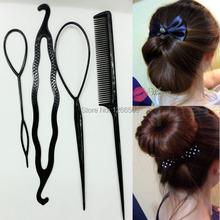 Newest Hair Combs Women hair accessory Synchronized pull hair pin wear hair sticks pattern portable hair maker accessories