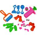 21pcs Playdough Tools Soft Polymer Fimo Modeling Clay 3D Play Doh Accessories DIY Plasticine Sets Kids
