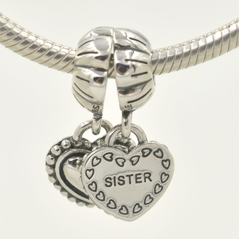 Pandora Jewelry Sister Charm: New! 925 Sterling Silver Heart My Special Sister Dangle