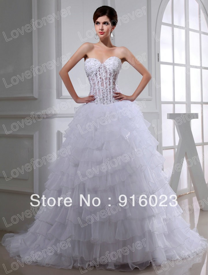 free shipping real design 2013 see through corset bodice