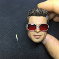 1 6 Scale Soldier Fight Club Brad Pitt Pitt Head Sculpts Model Toys War loss version
