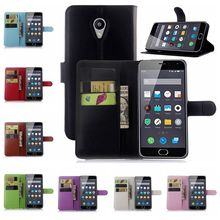 OWNEST Meizu M2 MIni Case Wallet Style PU Leather Case for Meizu M2 Mini 5.0 inch with Stand Function and Card Holder