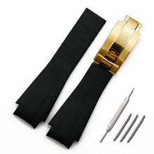 Аксессуары для часов, мужской Камуфляжный резиновый ремешок для часов, ремешок для часов, 20 мм, женские водонепроницаемые силиконовые спорт...(China)