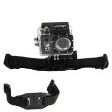 Vented Adjustable Head Adapter Strap Belt Mount Holder Helmet For Sport Gopro Hero 4 3 2 xiaomi yi Camera Accessory GP04