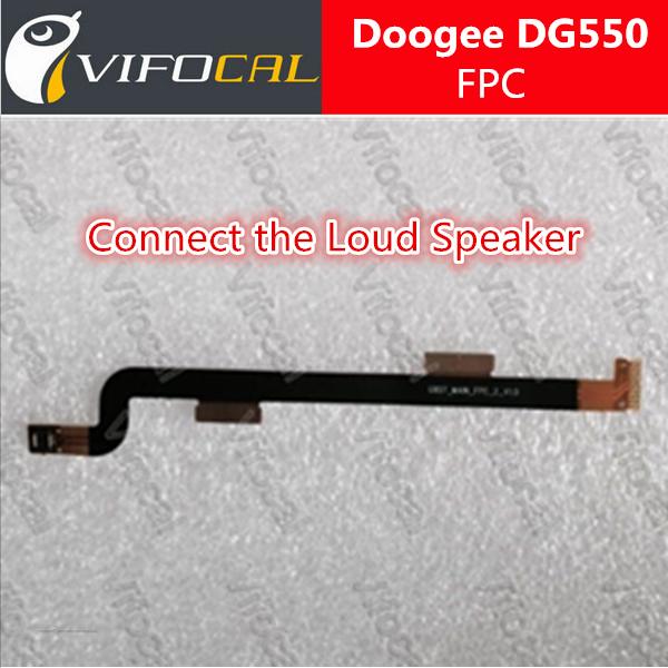 Оригинальный новый громкоговоритель FPC для Doogee DG550 мобильных телефонов шлейфы аксессуар + бесплатная доставка + номер для отслеживания