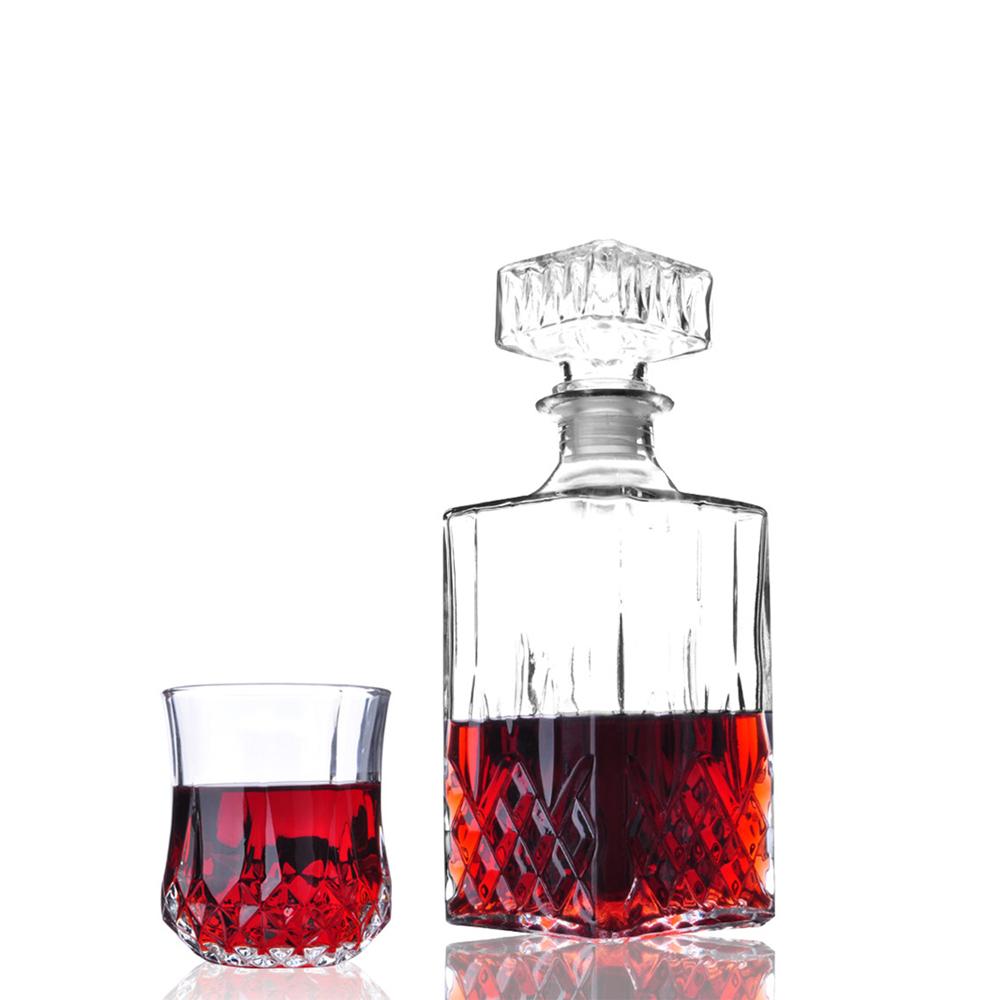 new diamond design classic elegant wine decanter whisky. Black Bedroom Furniture Sets. Home Design Ideas