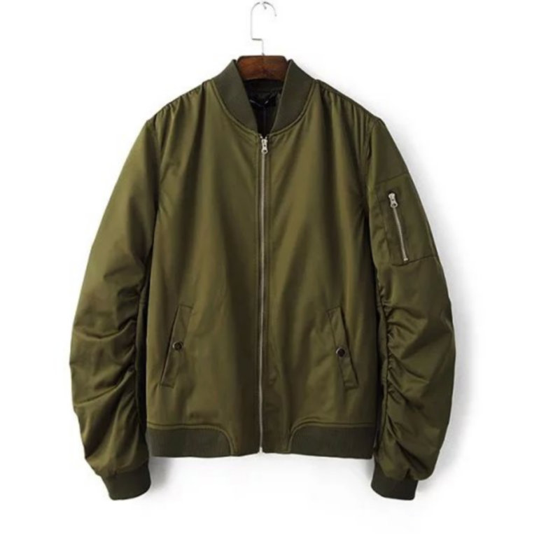 cd1a51bf433 U.S. Military Army Mens Leather Aviator Bomber Jacket The U.S. Army® is one  of the
