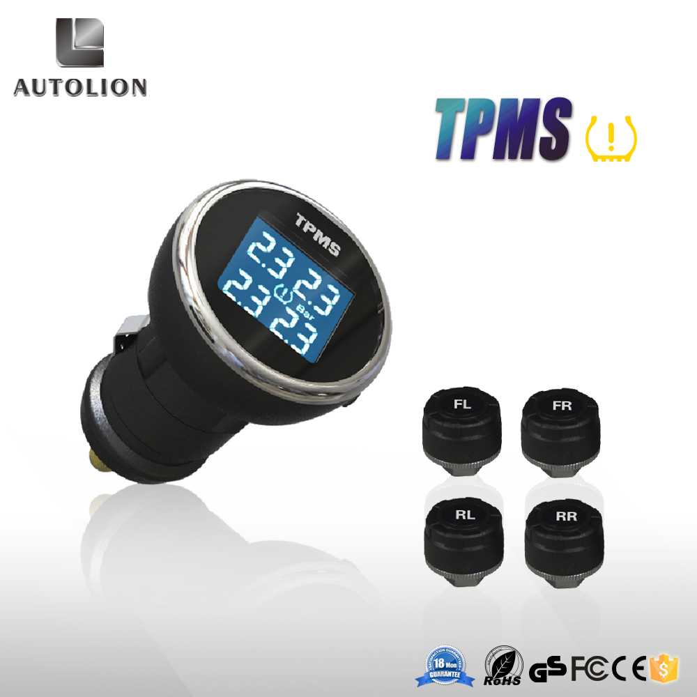 tpms 2015 wireless technology tire pressure monitoring system connect to cigarette lighte for. Black Bedroom Furniture Sets. Home Design Ideas