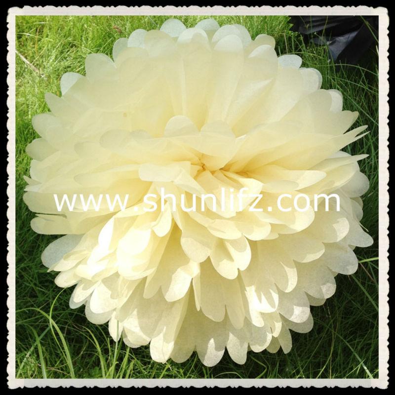 2016 hot new products pom pom trim jasmin decorative artificial flower ...