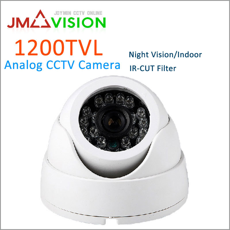 Security Camera HD 1200TVL CMOS 36 IR LED Color IR Night Vision Surveillance Dome CCTV Camera Home Indoor Camera Video Camera