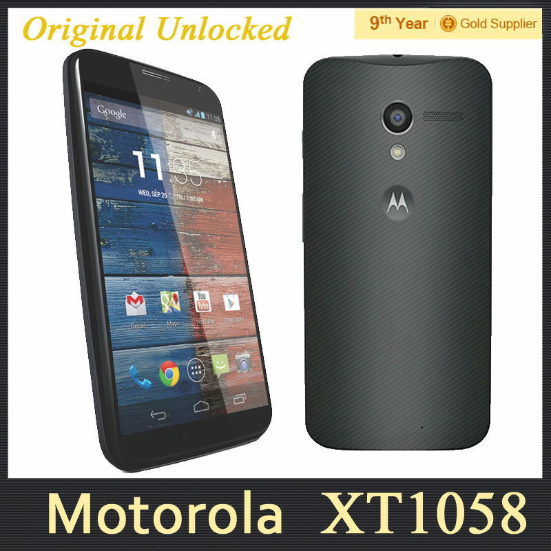 motorola moto x xt1060 xt1058 original cell phone 4 7 inch 2gb ram 16gb rom 10mp camera gps 3g. Black Bedroom Furniture Sets. Home Design Ideas