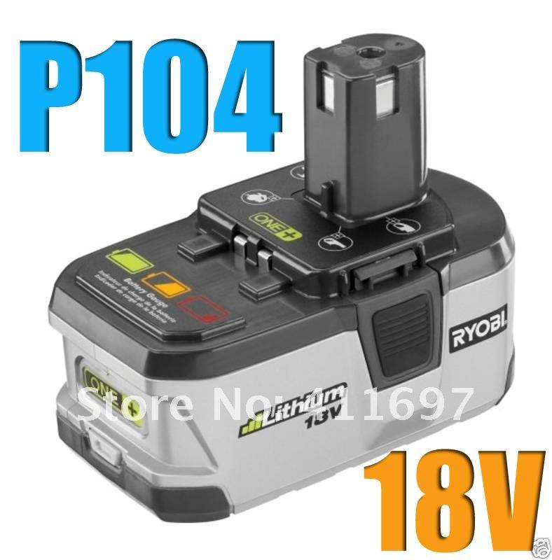 free shipping 2 packs x 2 4ah ryobi 18v lithium battery. Black Bedroom Furniture Sets. Home Design Ideas