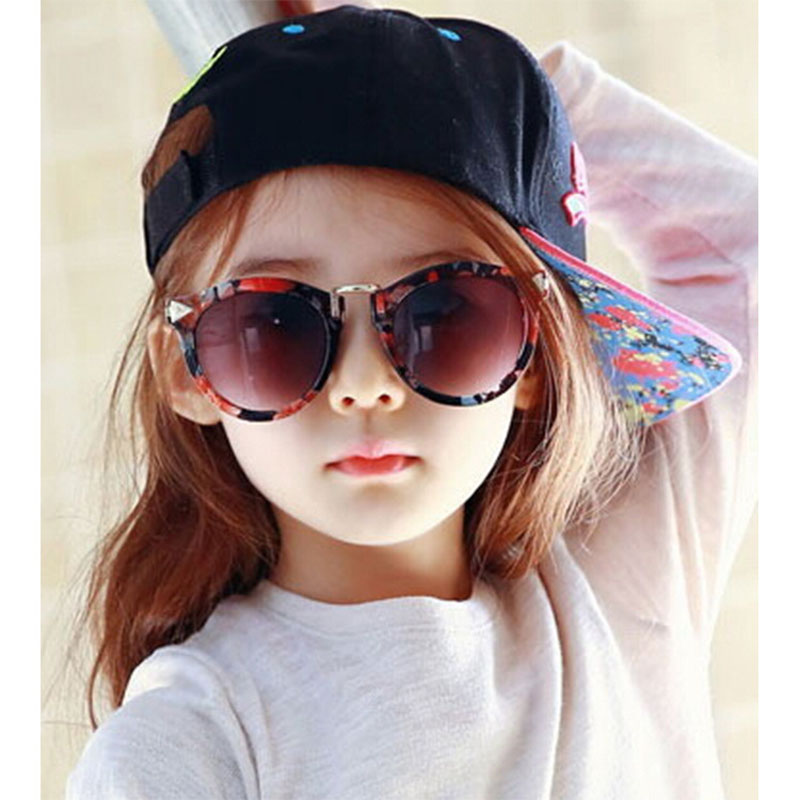 0505acfc4d2 Arrow Kids Sunglasses 2016 New Fashion Korean Sunglasses UV400 Retro Round  Frame Glasses For Children