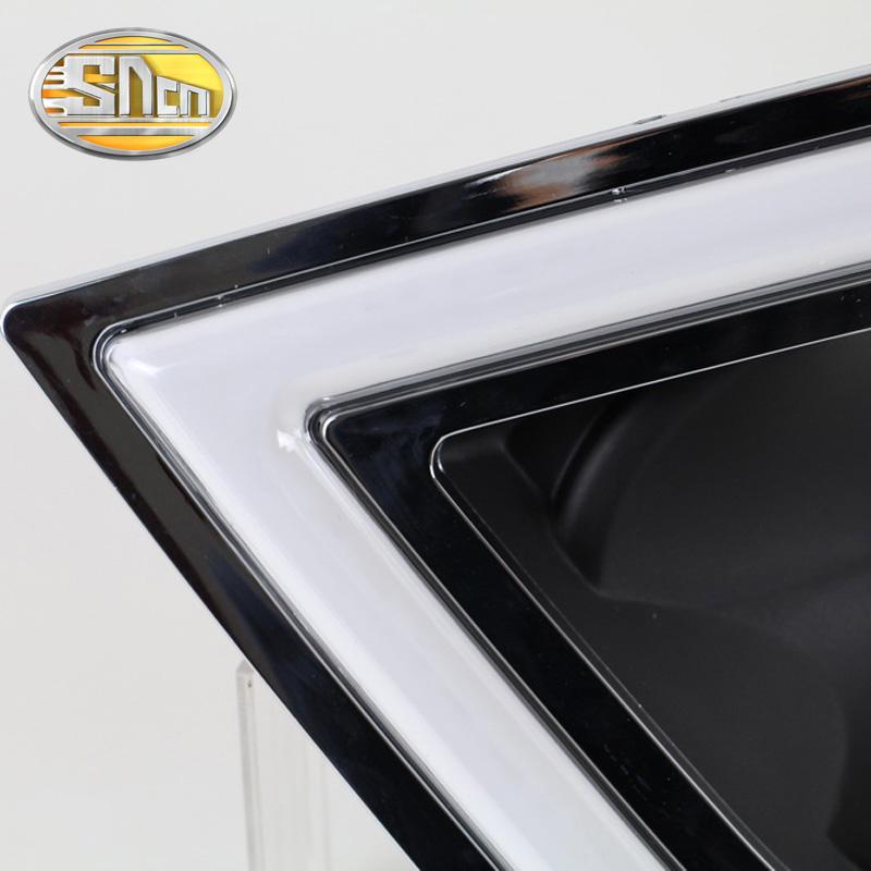 Затемнения стиль реле водонепроницаемый 12 В автомобиля из светодиодов DRL дневного света противотуманных фар отверстие для Toyota Corolla 2014 2015