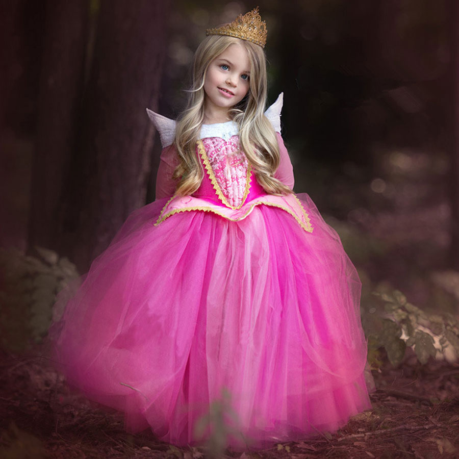 Kids Cosplay Costume Dress Cinderella Elsa Baby Girls: New Arrival 2016 Toddler Girl Dresses Cute Princess