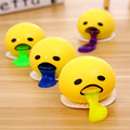 1pcs Creative vomiting egg yolk toys funny lazy egg students spoof toys decompression pinch reduce pressure