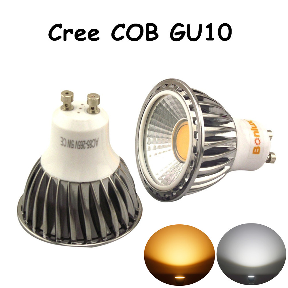 5w led gu10 bulb cree cob gu10 spotlight with 50w halogen gu10 light bulb replacement for living. Black Bedroom Furniture Sets. Home Design Ideas