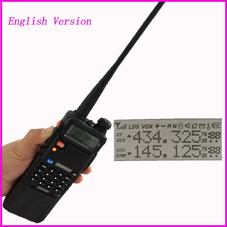 Upgrade uv 5r II Baofeng uv-5r 3800mah for ham cb Two Way Radio Walkie  Talkie Vhf Uhf Dual Band Portable Radio Station Interfone