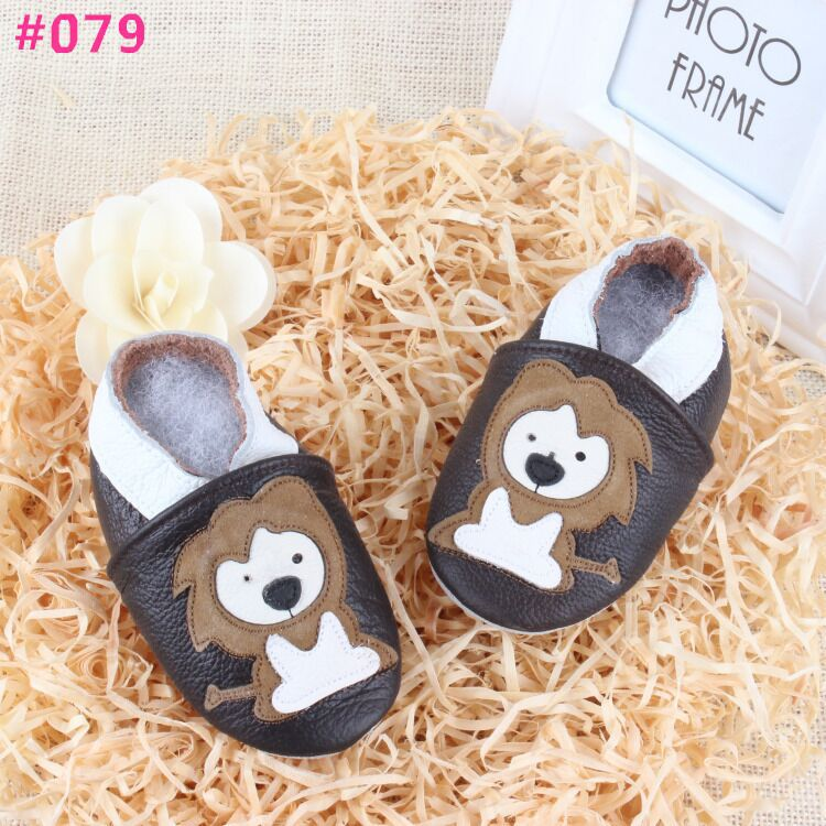 New 2016 Lion baby leather moccasins infantil first walker sapato bebe genuine leather toddler shoes free
