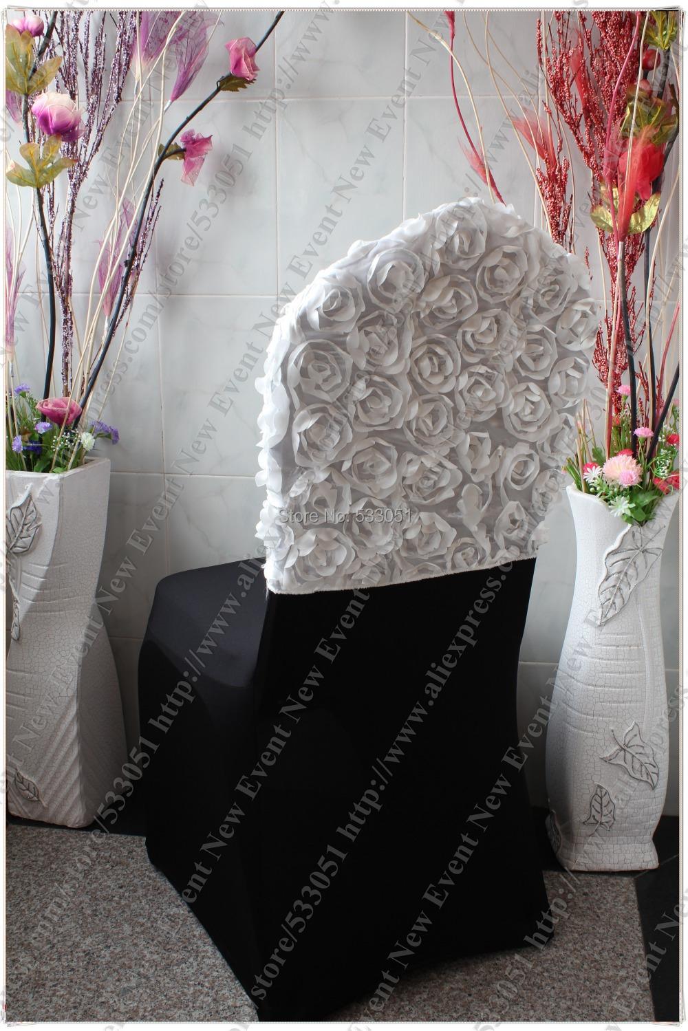 Popular Rosette Chair Covers Buy Cheap Rosette Chair