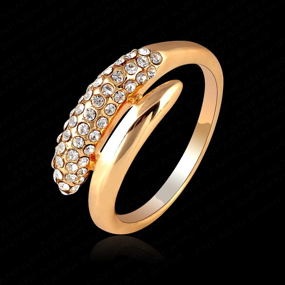 Golden rings for girls