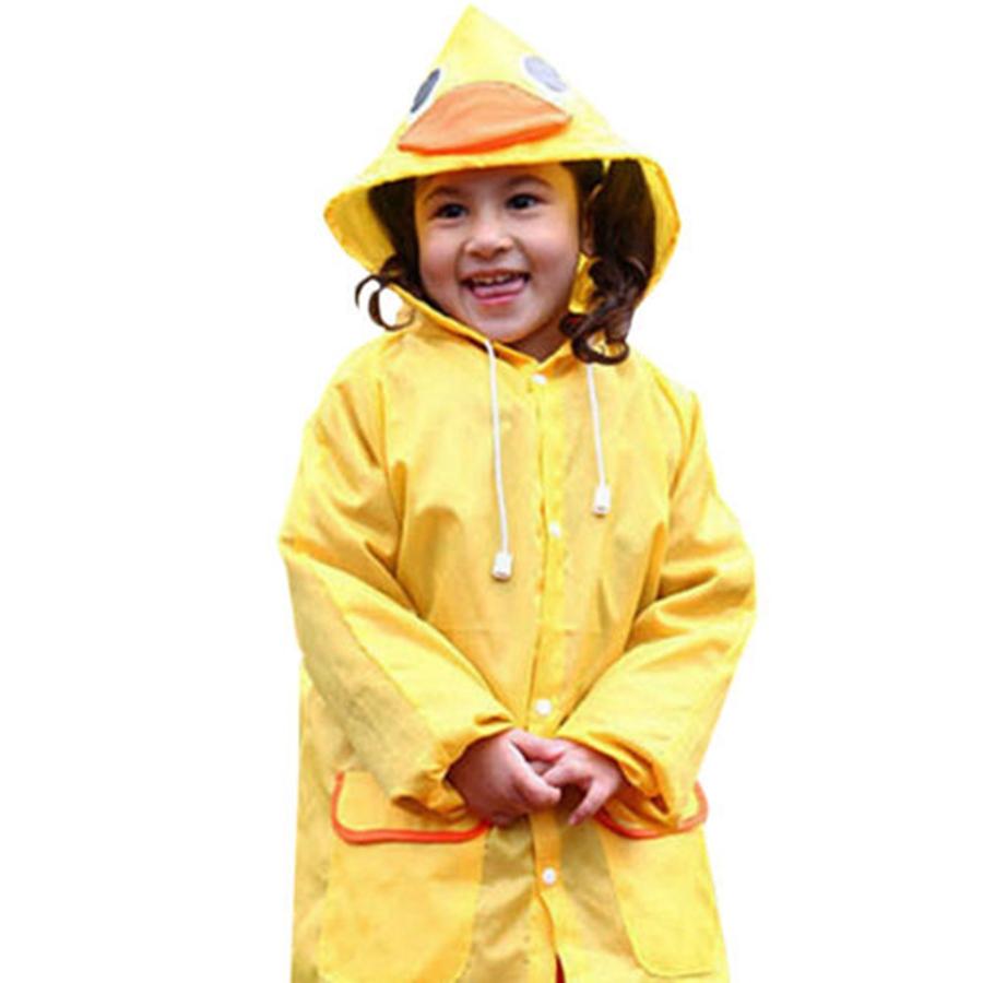 2016 Yellow Children Cute Duck Raincoat Boys Girls ...  2016 Yellow Chi...